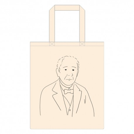 渋沢栄一イラストバッグ