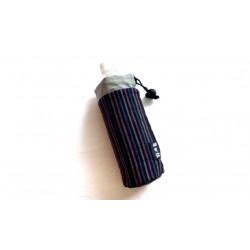 【送料無料】中営機業 亀田縞の水筒、ペットボトル入れ②