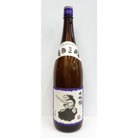 【全国送料無料・梱包代金無料】亀田三昧 大吟醸酒 720ml