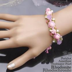 色々可愛い5種の石達の薔薇の園『ローズガーデン』編ブレス