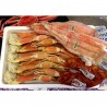 【青森海】ずわい蟹3k10肩。タラバ蟹4L800を2個。よしやすキムチ1000g追加。