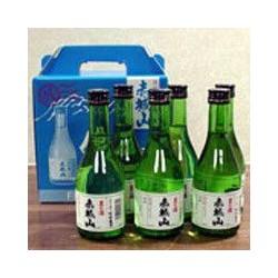 赤城山 男の酒 本醸造辛口 生貯蔵酒 300ml×6本セット