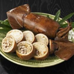 むつYEG】 宮本プロディース 。『ウニとアワビの炊込みご飯入り!大きないか飯』