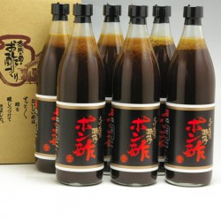 とば屋酢店 味付けポン酢 900ml×6