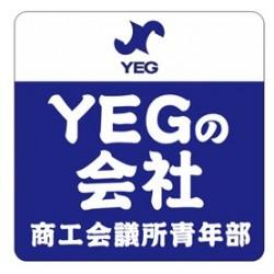 YEGの会社ステッカー