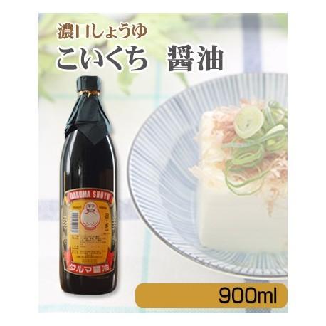 ダルマ醤油 濃口 900ml ※
