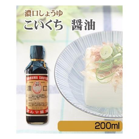 ダルマ醤油 濃口 200ml ※