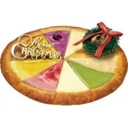 ガトーよしだのベイクドチーズケーキ クリスマススペシャルミックス(18cm)
