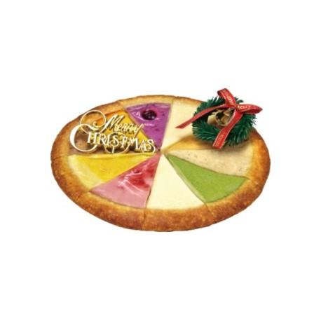 ガトーよしだのベイクドチーズケーキ クリスマススペシャルミックス(18cm) ※