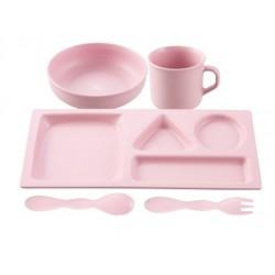 リーフテーブルウエア セット (ピンク)