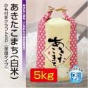あきたこまち「ゆうこちゃんのお米」 令和元年新米 白米 5kg 特別栽培米 単一農家米R-100 水田環境特A 秋田県産