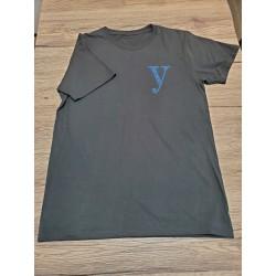 YEG Tシャツ(プリント)ブラック                      Lサイズ