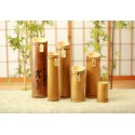 不思議な竹焼酎「薩摩翁」鹿児島の芋焼酎を竹に密封!父の日、ギフト、お歳暮などに