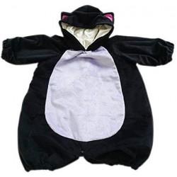 赤ちゃん用コスプレお洋服【黒猫】