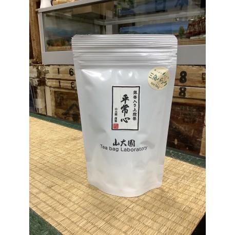 抹茶入り上煎茶「平常心」ティーバッグ3g×12包 ※