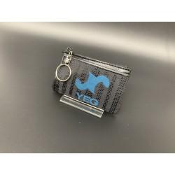 本場筑前博多織オリジナルYEGキーケース 黒青カラー 限定一個