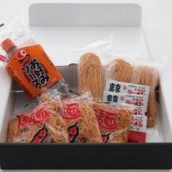 広島三次の唐麺のラーメン4食と焼きそば4食のセット ※