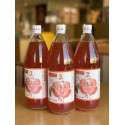 """【五所川原特産】""""赤〜いりんご""""果汁100%ジュース 1ℓ×3本セット ※"""