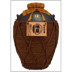43%おもろ甕貯蔵10年古酒入『瑞泉壷1斗(巻)壷』18,000ml