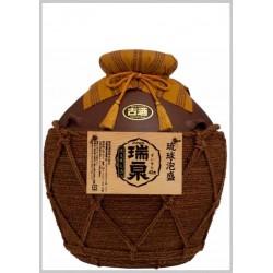 43%おもろ15年古酒入『瑞泉壷5升(巻)壷』9,000ml