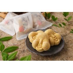 【敦賀YEGこにたん】敦賀伝統銘菓豆らくがん8個入(袋入り) ※