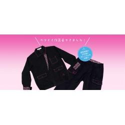 女性向け作業着ブランド「けんせつ姫」ジャケット Lサイズ ★刺繍なし