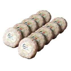 沖縄県産 あぐー豚 ハンバーグ  100g × 10個 ※