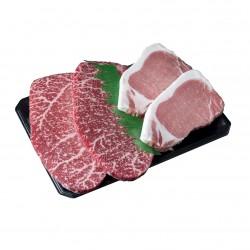 沖縄県産和牛 石垣牛・あぐー豚 ステーキセット ※